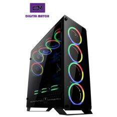 AVF Gaming Freak 905G hubble Gaming Chassis duo sideTempered Glass Malaysia