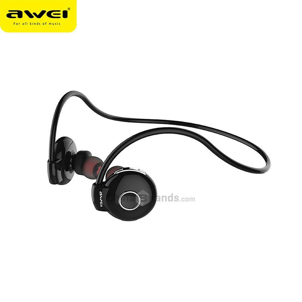 Price Awei A845Bl Bluetooth V4 1 Noise Reduction Neckband Stereo Earphones Intl Oem