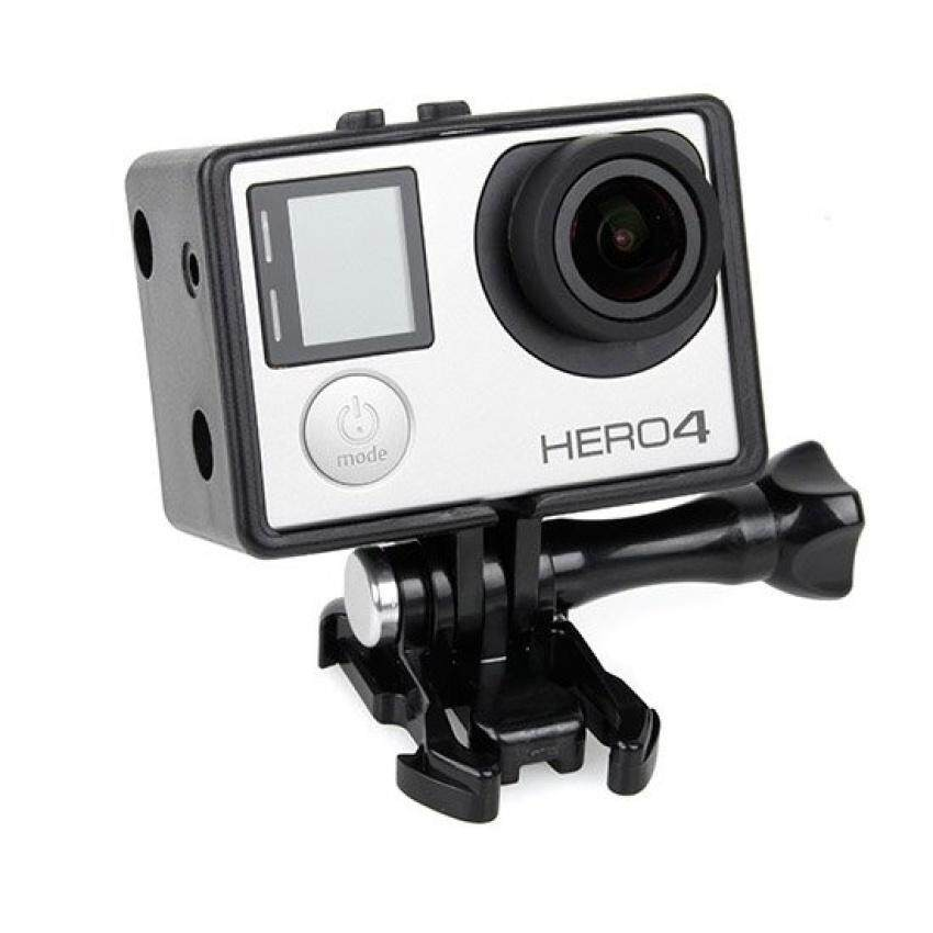 ZTStore Bacpac Frame Mount Housing Case For Gopro Hero 4 / 3+ /3(Black)