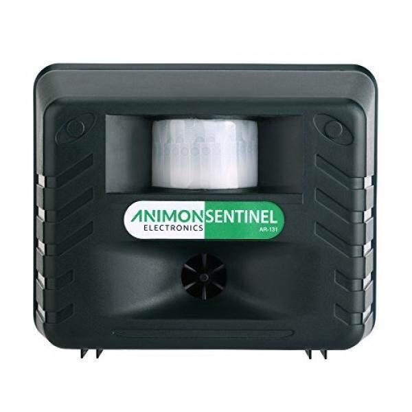 Barkguard Animon Halaman Sentinel Outdoor Elektronik Ultrasonik Animalpest Repeller Jera untuk Halaman dan Taman dengan Adaptor AC