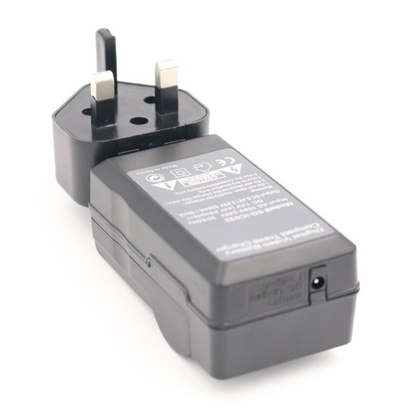 Battery Charger for HITACHI HDC-1087E HDC-1296 HDC-1296EHDC-1097ECamera AC+DC Wall+Car - intl