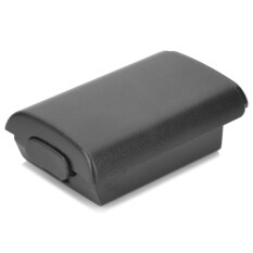 Battery Cover Case For Xbox 360 Wireless Controller Black By Extreme Deals.