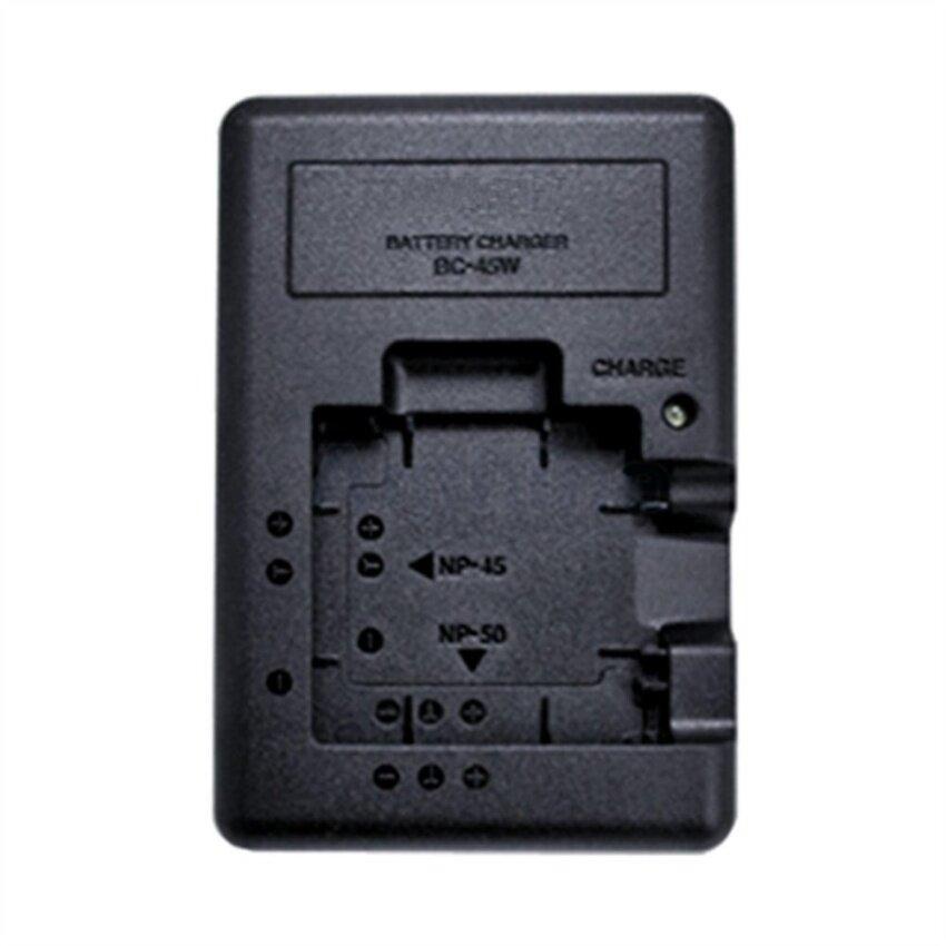 BC-45W Pengisi Daya Baterai untuk Fujifilm NP-40 NP-45 NP-45A NP-50NP40NP45 NP45A NP50 FNP40 FNP45 FNP45A FNP50 F605 F505 F85-Intl