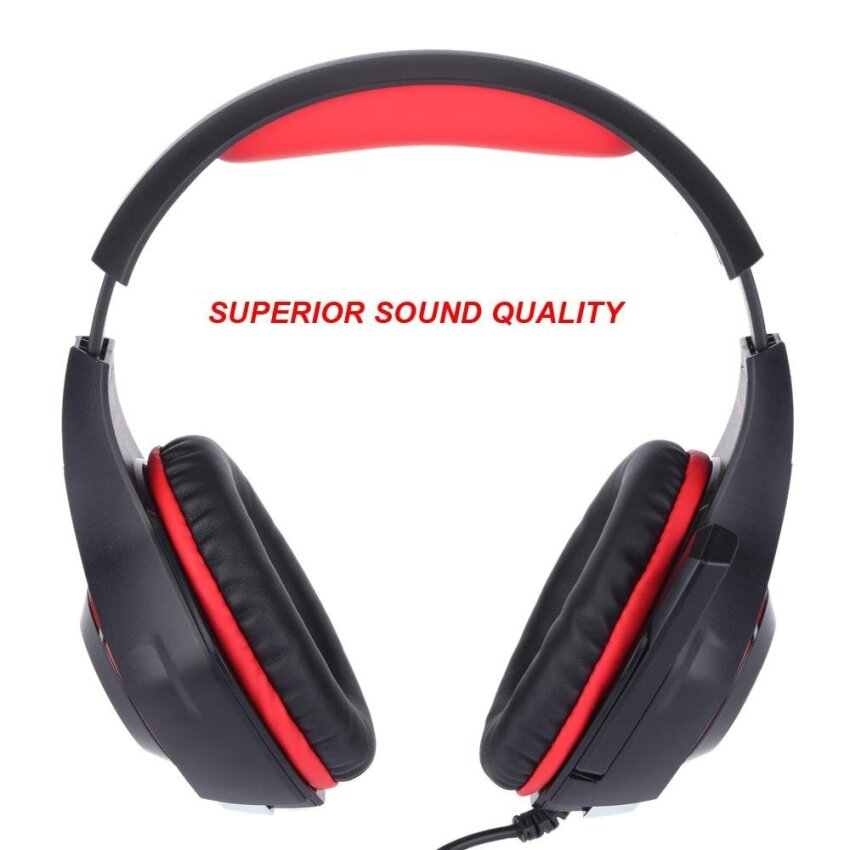 Purchase Beexcellent Gm 1 Professional Esport Gaming Headset Stereo Bassheadphone Earphone Over Ear 3 5Mm Usb With Microphone Ledlight Noise Reduction For Ps4 Xbox One Mac Pc Ios Android Intl