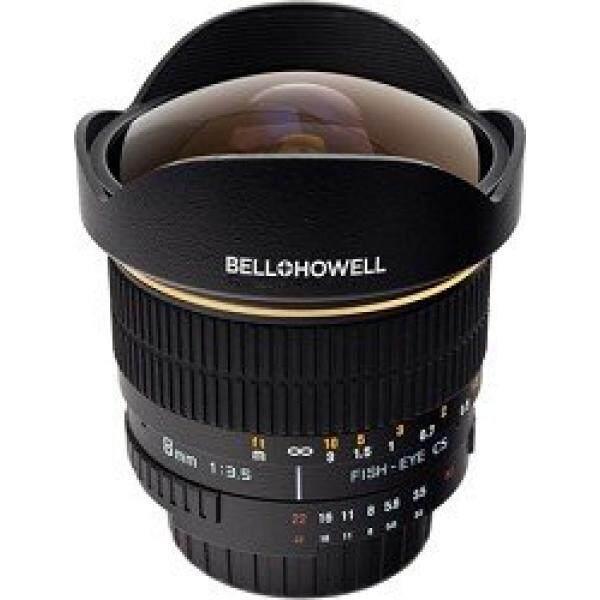 Bell dan Howell 8 Mm F/3.5 Aspherical Lensa Mata Ikan untuk Nikon Kamera DSLR-Intl