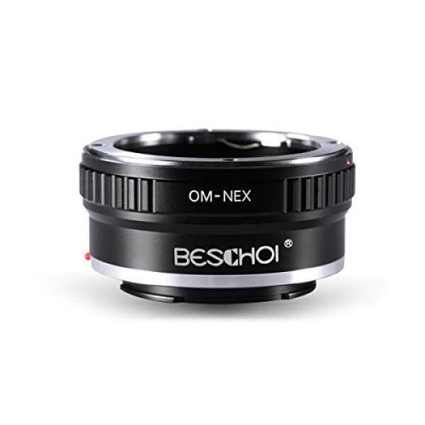 Beschoi OM-NEX Pro Objektivadapter, Objektiv Adapterring F? R Om Olimpus Objektiv Auf Sony NEX (E-Mount) kamera Sony NEX-3 NEX-3C NEX-3N NEX-5 NEX-5C NEX-5N NEX-5R NEX5T NEX6 NEX7-Intl
