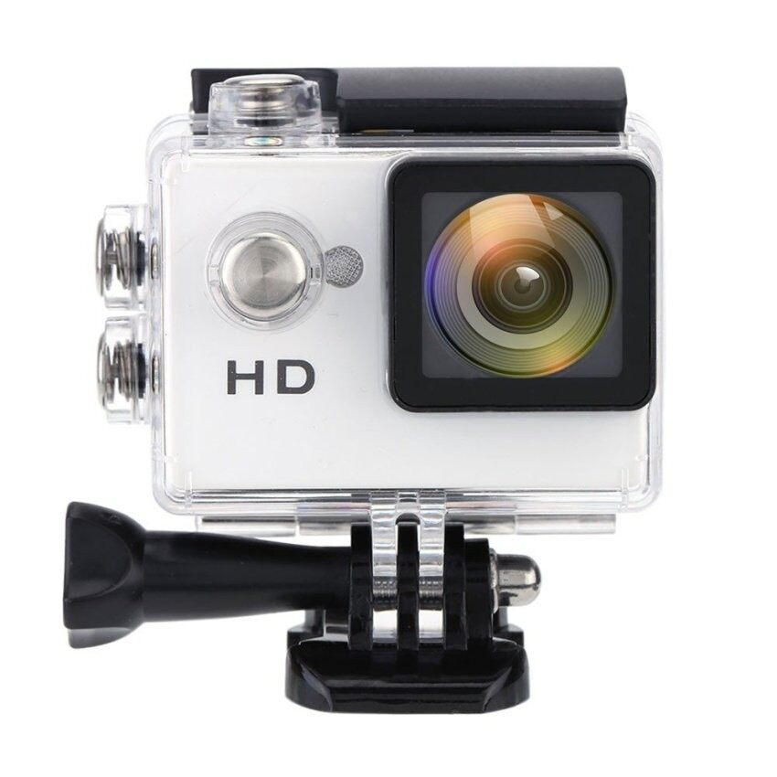 Terbaik A7 Kamera HD 720 P Murah Hadiah Spor Kamera Aksi 2�  X9d Lcd90wide Sudut 30 M Anti-Air Mini digital Kamera Perekam (Warna: perak)-Internasional
