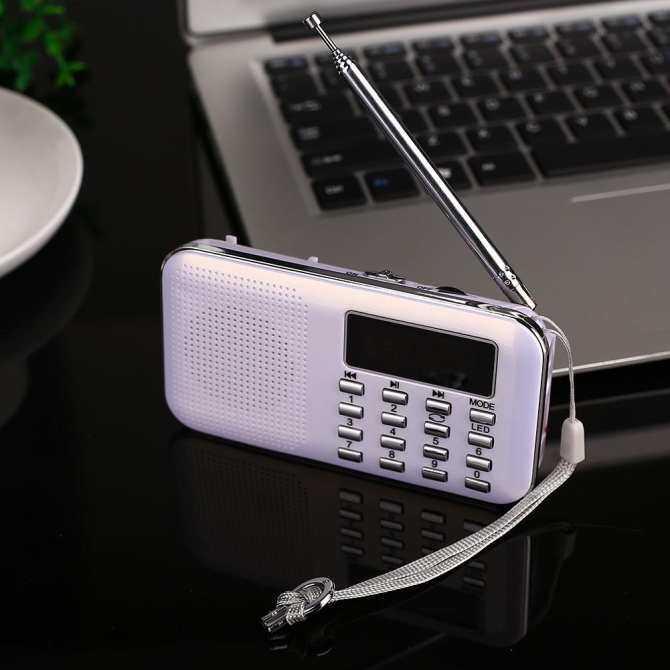 Bestprice Stereo HiFi Digital FM Radio USB Sound Music Audio Player W/LED Light Support