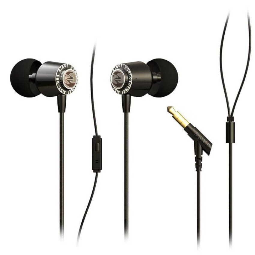 Earphone dengan Mikrofon-Intl. Source · Bgvp DM4 Profesional Audiophile Logam .