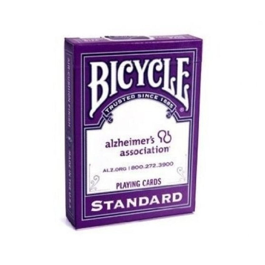 Bicycle Alzheimers Association Playing Cards - intl