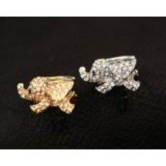 Big Mango Cute Crystal Elephant Anti Dust Plug Stopper / Ear Cap / Cell Phone Charms for Apple iPhone 5 5S,iPhone 4 4s ,iPad Mini iPad 2 ,iPod Touch 5 4,Samsung Galaxy S3 S4 Note3 Note 2,HTC and Other