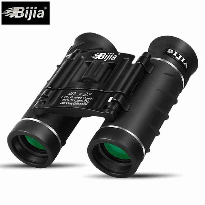 Nicetech BIJIA 40X22 Hunting High Times Waterproof Portable Mini Binoculars Telescope Professional Hunting Optical Outdoor Sports