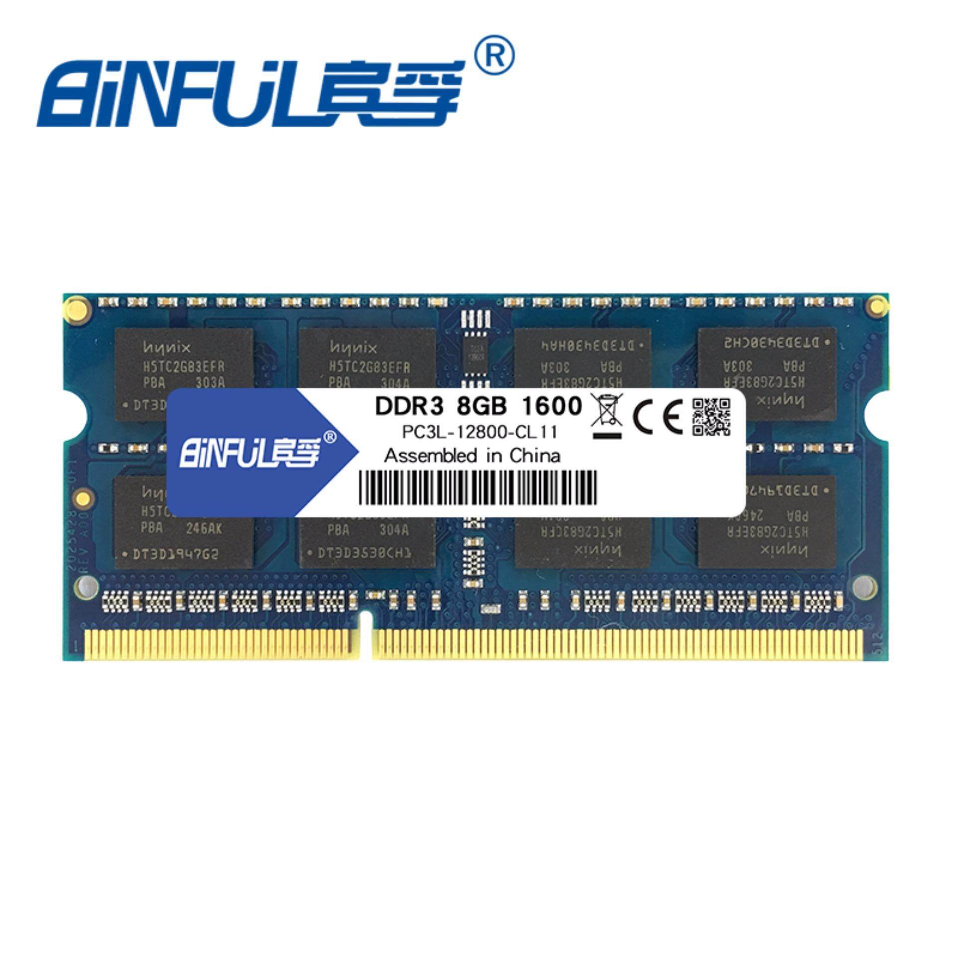 Sale Binful New Brand Ddr3L8Gb 1600Mhz Pc3L 12800 Memoria Ram Low Voltage 1 35V For Laptop Computer Notebook Sodimm Intl