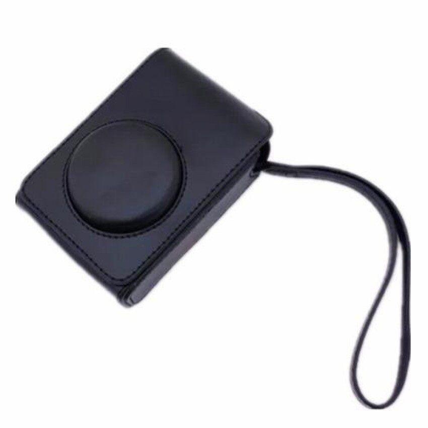 Kamera Hitam Pu Kulit Kemasan Tas untuk Fuji XQ2 (Internasional) Sheng HOTT 890-Internasional