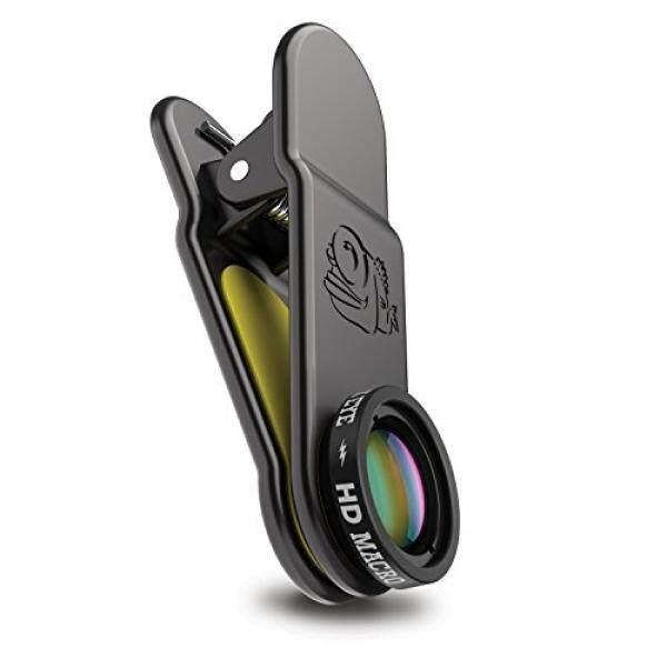 Hitam Mata-HD Macro Lensa Kamera Lensa Lampiran-Dirancang untuk iPhone, Piksel, HTC, Huawei, LG, Nokia, Samsung dan Kebanyakan Ponsel Pintar Lainnya Di Planet Ini-Internasional