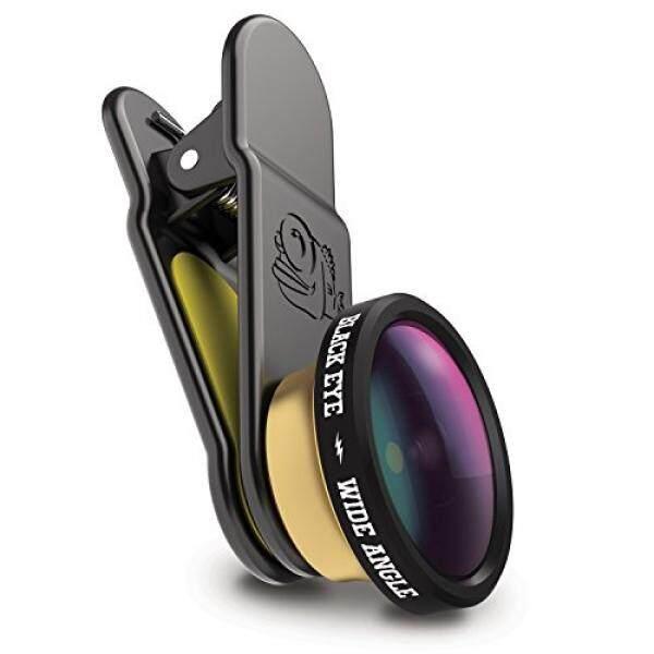 Hitam Mata-HD Lebar Sudut Lensa Kamera Lensa Lampiran-Dirancang untuk iPhone, Piksel, HTC, huawei, LG, Nokia, Samsung dan Kebanyakan Ponsel Pintar Lainnya Di Planet Ini-Internasional