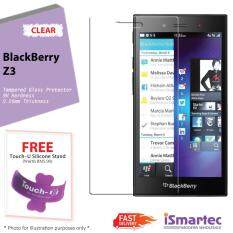 Blackberry Z3 Tempered Glass Protector 0.26mm + 9H Hardness (HD Clear)