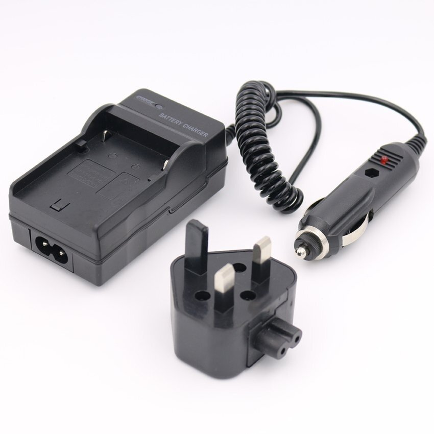 BLM-1 Pengisi Daya Baterai untuk Olympus C-5060 Lebar Zoom E500 E510E520Digital Kamera AC + DC + Mobil-Intl