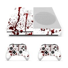 Bloody Vinyl Decal Skin Stickers Cover For Xbox One S Console & 2 Controllers By Teamtop.