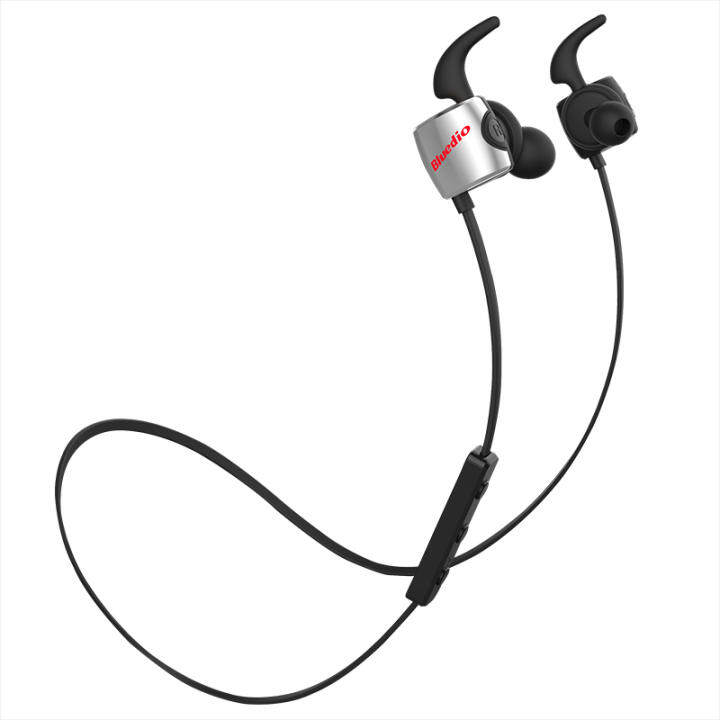 Bluedio TE Bluetooth 4.1 Wireless Sports Headphones Sweatproof Mic (Black)