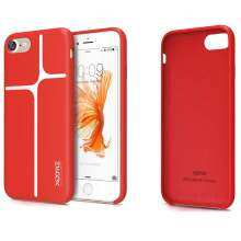 Bluesky Xoomz Silicone Shockproof for Apple iPhone 7 Plus Red