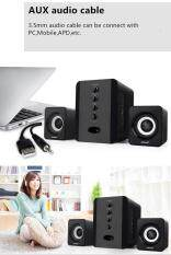 Bluetooth Computer Speaker Desktop Booshelf Stereo Subwoofers Loud Speaker Support U Disk/TF Card SADA D-226 Malaysia