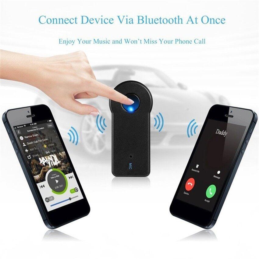 Bluetooth Musik Audio Stereo Adaptor Penerima untuk Review Mobil AUX Dalam Rumah Speaker Mp3-Internasional