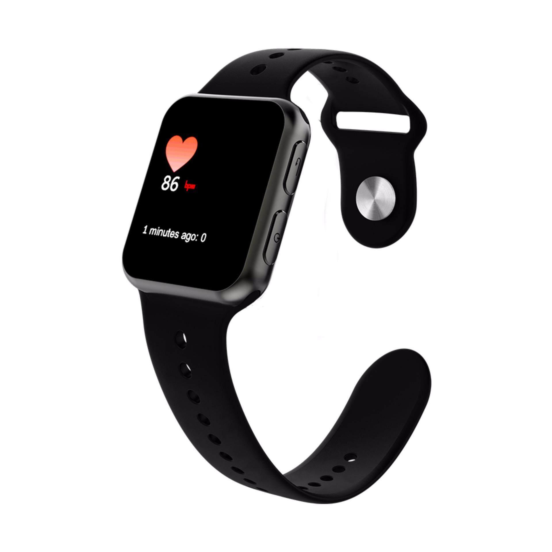 Smawatch Sma 09 2 Bluetooth 40 Jam Pintar Hitam Kulit Band Spovan Gl006 Tangan Olahraga Lari Smartwatch Gps Heartrate Black Smart Watch I68 Mini Mtk2502c With Heart Source Whatsapp Facebook Instagram Pk Iwo