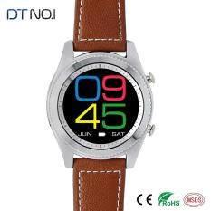 Bluetooth Smartwatch NFC Monitor Denyut Jantung Smartwatch Android Ponsel Tidur Pelacak Passometer DT No 1 S9 MTK2502 Ponsel Watch