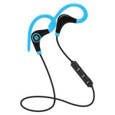 Bluetooth Wireless Stereo Earbuds IPX4 Sweatproof Sport Earphones with Mic Secure Earhook for iPhone, Tablet