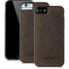 blumax backcover echt ledercase magnetische lederhlle fr apple iphone 8 iphone 7 iphone 6 6s - Handyhllen Muster