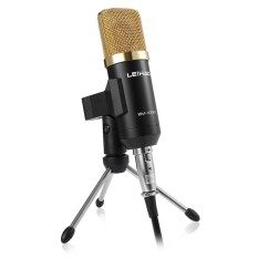 BM - 100FX USB Condenser Sound Recording Microphone with Stand for Radio Braodcasting Malaysia