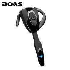 BOAS bluetooth 4.1 wireless headphones earphone headset with microphone  mini handfree ear hook headset for iphone 0a13097dcb