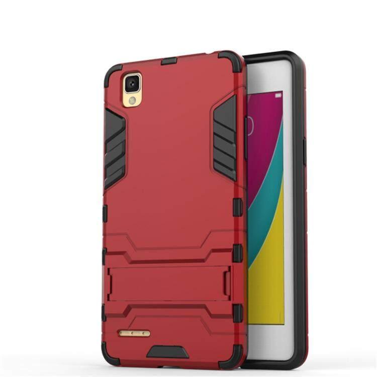 THB 188. BONVAN Luxury Iron Man Robot Armor With Stand Holder Hard Back Cover Hybrid 2 in 1 ...