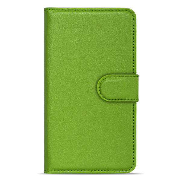 SPL PU Leather Phone Plain Color Cover Case for VIVO Y15 (Green) - intl