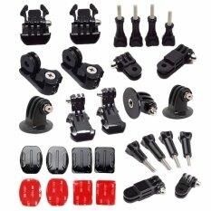 Bundle Kit Mount Thumb Knob Adapter Arm Chain Tripod Screw for Go pro 5 4 3 Go pro hero 6 5 Session Xiao mi Yi 4k Go Pro Session SJ4000 H9 mijia Action Sport Camera Accessories