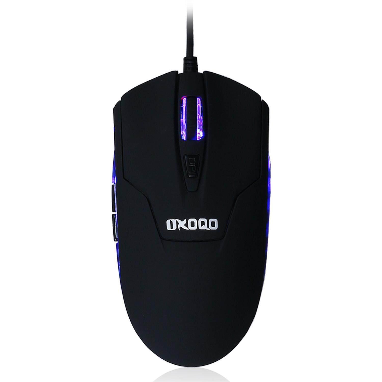 Leegoal Uther V4 2400 Dpi Led O Ptical 6 D Usb Wired Gaming Mouse Macro Warwolf Q8 Burmab Berkabel Permainan Oxoqo 800 1000 1200 1400 Kantor
