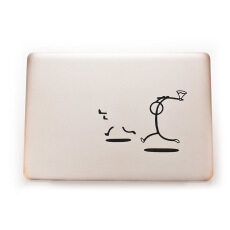 Buytra Killer Stickman Decal Sticker Skin for MacBook Laptop