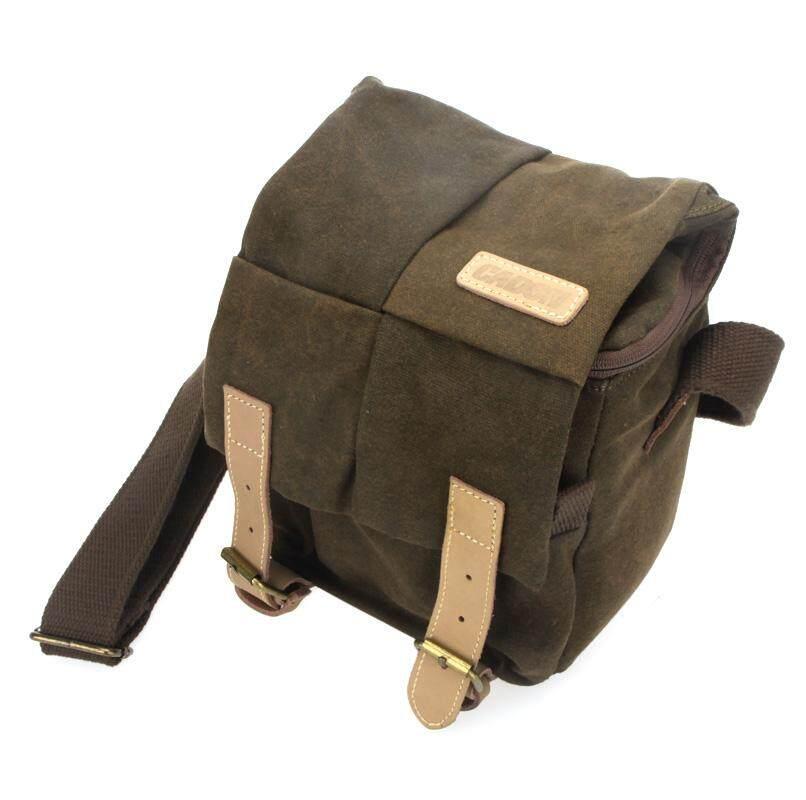 Buy Caden Digital Camera Bag Waterproof Canvas Vintage Shoulder Bag For Nikon Sony Canon Dslr Intl Not Specified Online