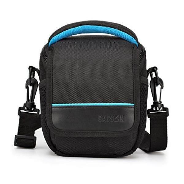 Caison Kamera Tas Bahu Wadah untuk Compact Sistem Kamera Mirrorless Canon EOS M6 M5 M3 M10 PowerShot SX540 HS SX430 Adalah/SONY a6500 A6300 A6000 A5100/NIKON 1 J5 Coolpix B700 B500/Olympus E-PL 8-Intl