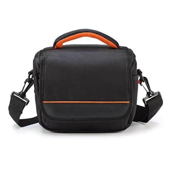 CAISON Camera Case Shoulder Bag for Mirrorless Camera Canon EOS M6 M5 M3 M10 / Panasonic Lumix DMC G80 GX8 G7 / Single Lens DSLR Camera NIKON D7500 D5600 D3400 / Canon EOS 200D 1300D 800D 750D 760D - intl