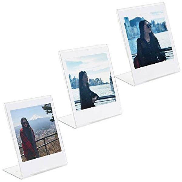 CAIUL L Modell Freier Acryl Foto Rahmen F? R Fujifilm Instax Square SQ10 Instan Film 3 ST? CK-Intl
