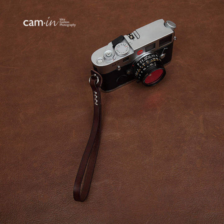 Cam-in digital slr camera wrist strap round hole type strap for leica fuji ws010