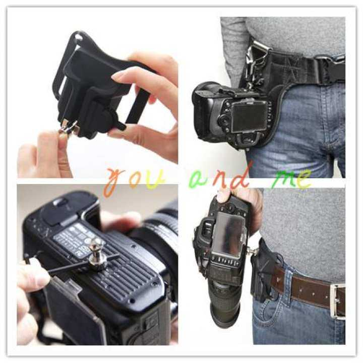 Camera belt buckle SLR belt hanging fast SLR camera/micro single camera shoulder strap waist Buckle