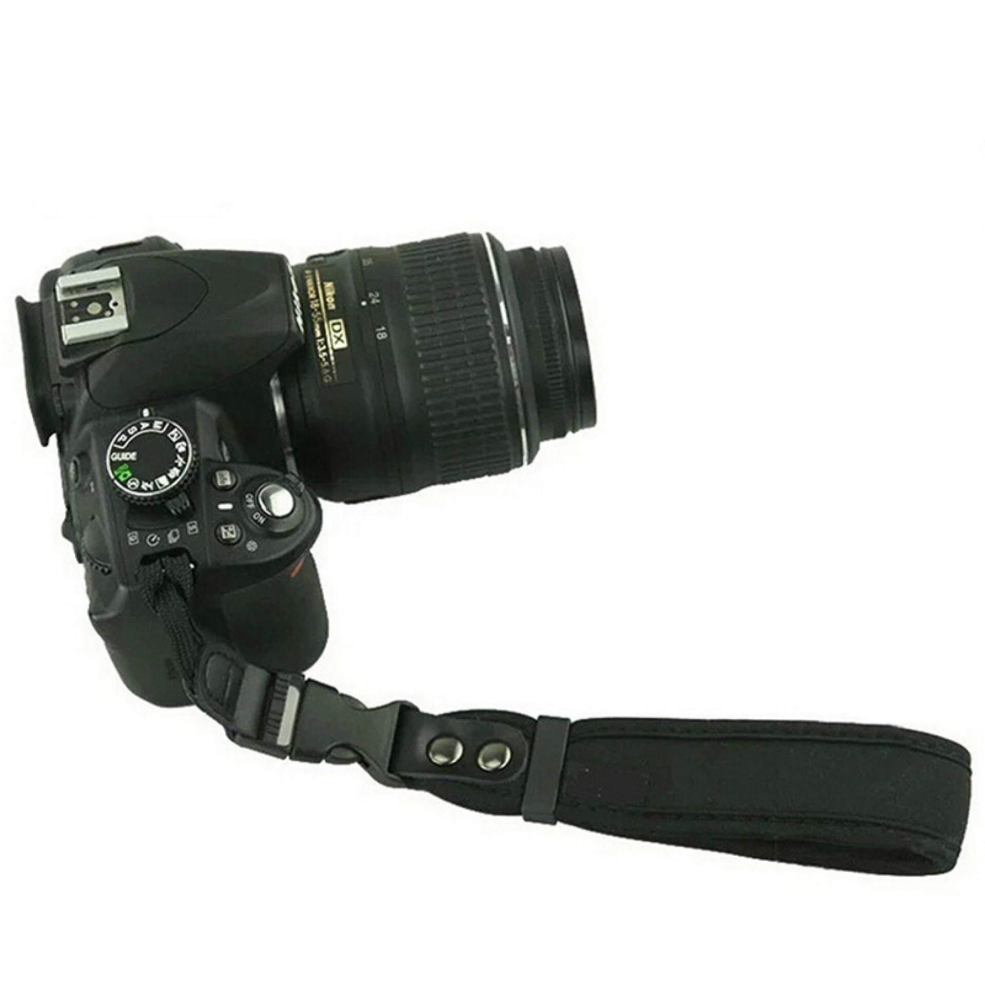 Kamera Pegangan Tangan untuk Canon EOS Nikon Sony Olympus SLR/DSLR Kain Strap Pergelangan Tangan