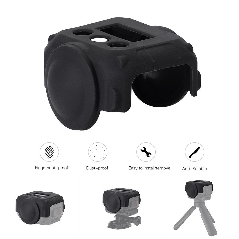 Price Comparisons For Camera Protective Lens Cover Silicone Cover Case For Garmin Virb 360 Camera Intl