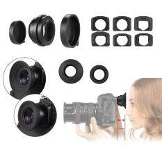 Camera Zoom Viewfinder Eyepiece Eyecup Magnifier Kit for Canon EOS 70D 60D 50D