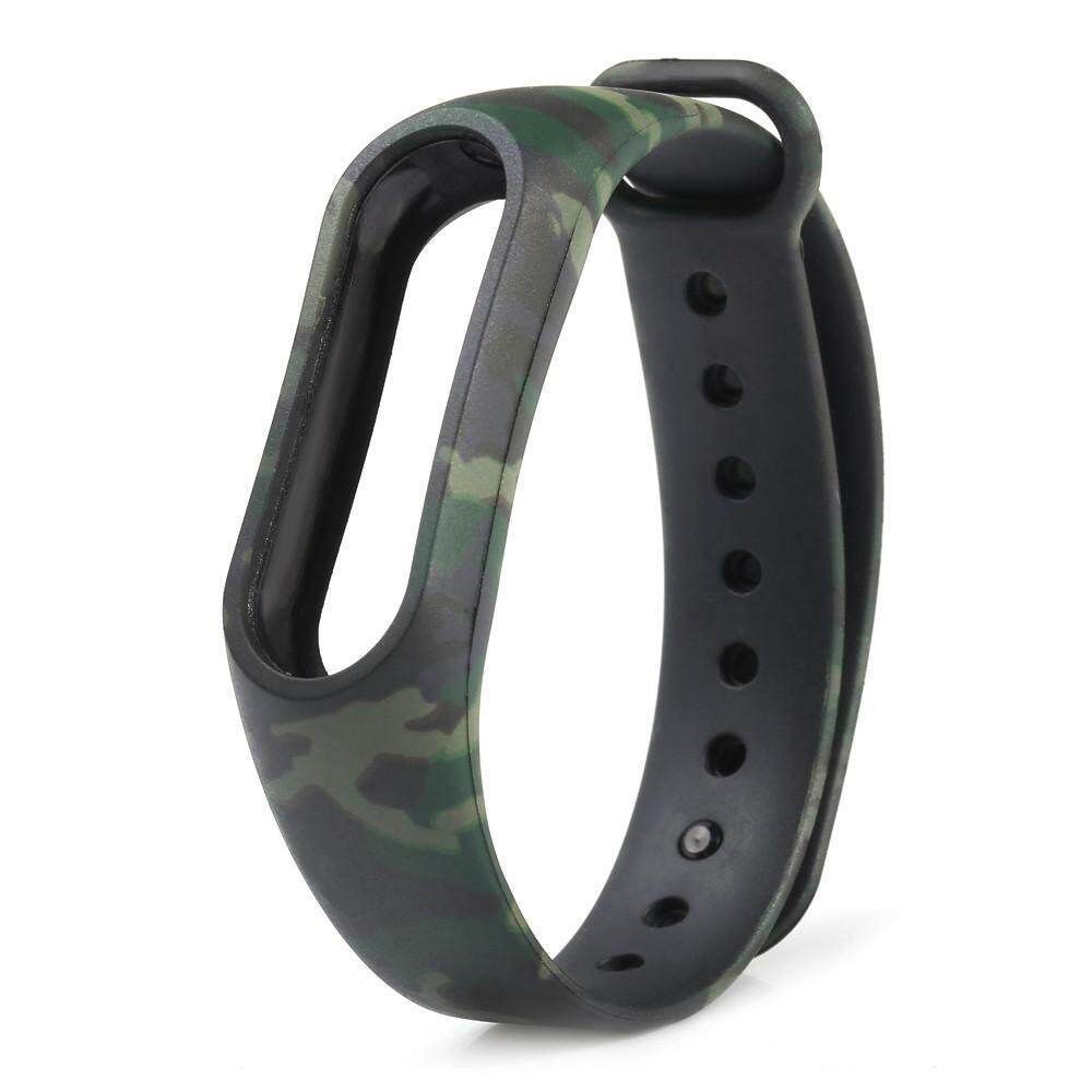 Camouflage Pattern Strap WristBand Bracelet Replacement For Xiaomi MI Band 2