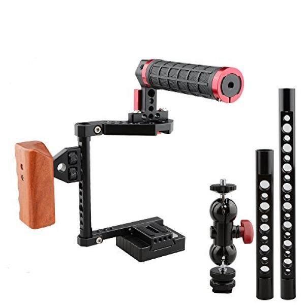 Camvate DSLR Kamera Cage-Kit F? R Kameras Canon 600D Panasonic GH5, Nikon D810, Fujifilm X-T2-Intl