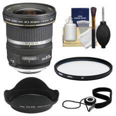 Canon EF-S 10-22mm f/3.5-4.5 USM Ultra Wide Angle Zoom Lens + UV Filter + Hood + Kit for EOS 70D, 7D, Rebel T5, T5i, T6i, T6s, SL1 DSLR Camera